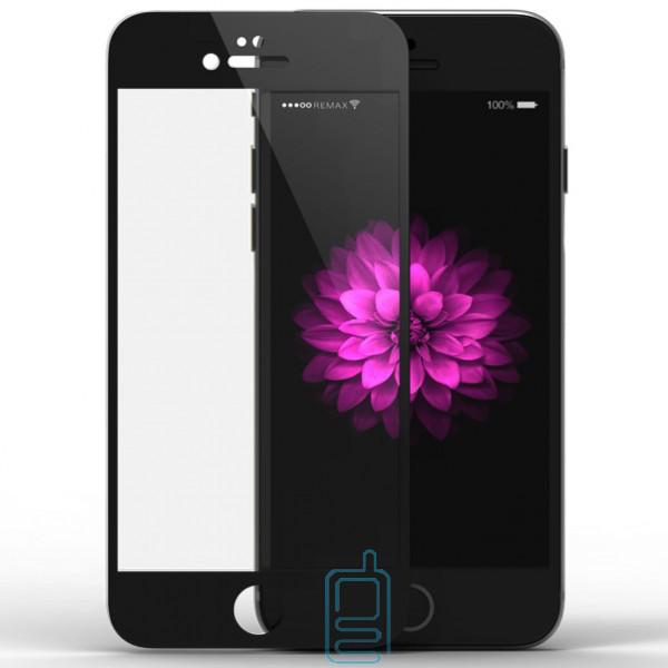 Защитное стекло Full Glue Apple iPhone 6 Plus black тех.пакет