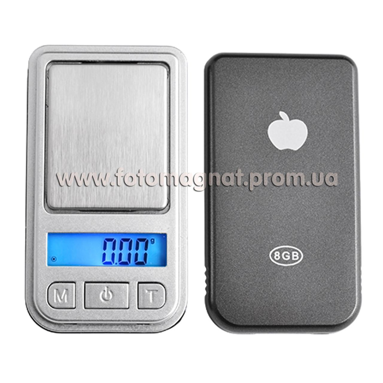 Весы ювелирные 6202-PA/INI SCALE/200г 0,01  (карманные весы)