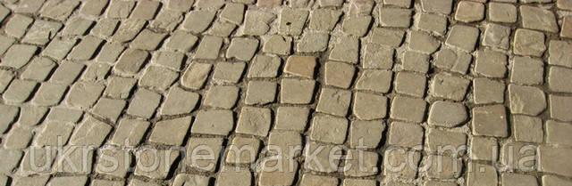 камень плитняк песчаник окатанный ретро