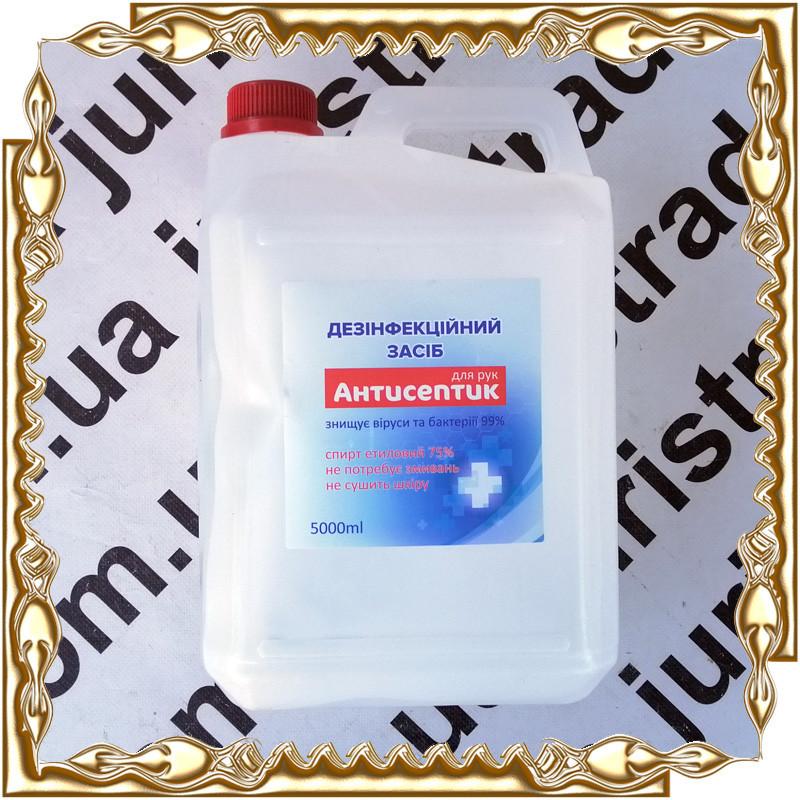 Дезінфікуючий засіб (антисептик) Алар 5 л. 75 %