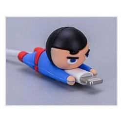 Силиконовий протектор для кабелю Superhero Superman