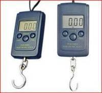 Весы электронные подвесные 607 mini до 40 кг, точность 5 г (кантер)