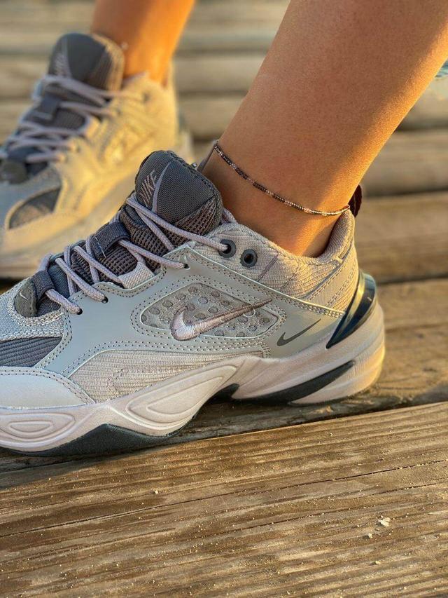 Женские серые кроссовки Nike M2K Tekno картинка