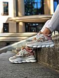Женские кроссовки Versace Chain Reaction Multicolour, женские кроссовки Версачи, кроссовки версаче, фото 3