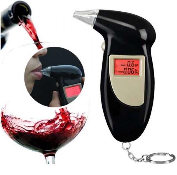 Алкотестер,Digital Breath Alcohol Tester, с мундштуками, персональный алкотестер