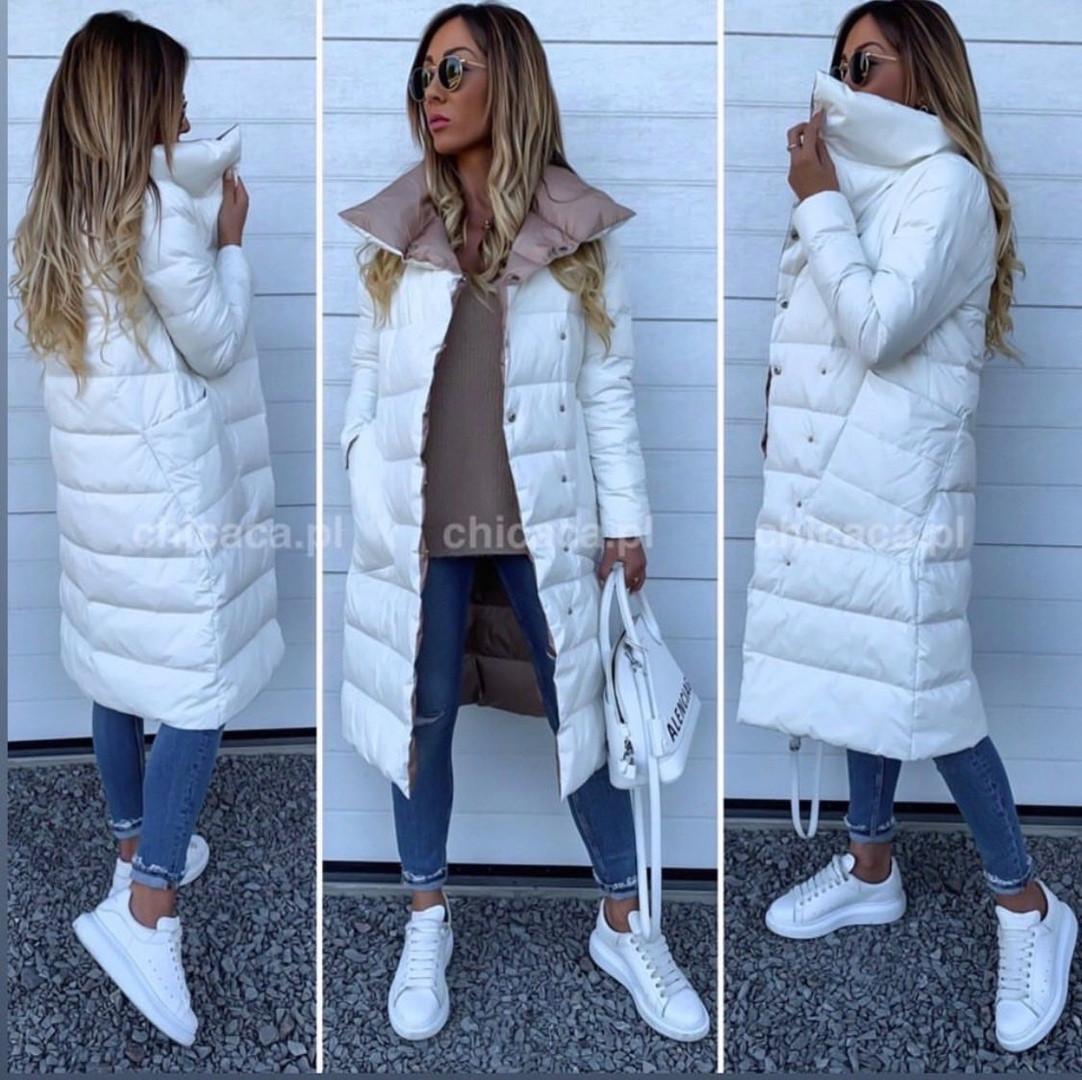 Двухсторонняя удлиненная куртка