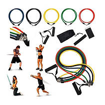 Набор эспандеров для упражнений Bends 5 шт.- Новинка, фото 3