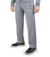 Спортивные брюки модные тем-серый 7204
