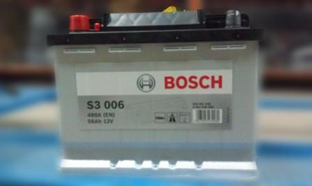 Аккумулятор Bosch 56 Ah-12V S3006, 5237437151