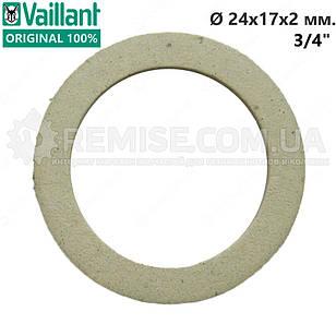 """Прокладка паронитовая 1 шт., 3/4"""" уплотнительное кольцо Vaillant 981140"""