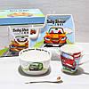Посуда детская из фарфора Машинки (4 предмета)