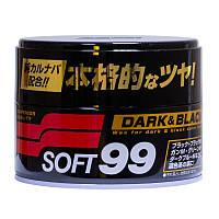 Твердый воск для авто Soft 99 полироль для темных и черных машин от грязи и пыли 300 гр 40 раз (00010)