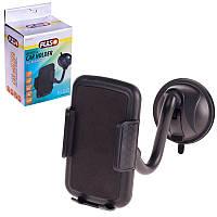 Автотримач мобільного телефону PULSO до 110 мм на гнучкій ніжці UH-2055BK (100)