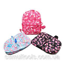 Рюкзак з сердечками Stenson 30*24*11 см