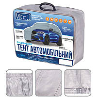 Автомобильный тент Vitol размер XL на джип и минивэн серый с подкладкой PEVA+PP Cotton (JC13401-XL)