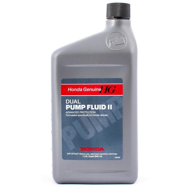 Трансмиссионное масло HONDA Dual Pump Fluid 2 0946 литра 082009007