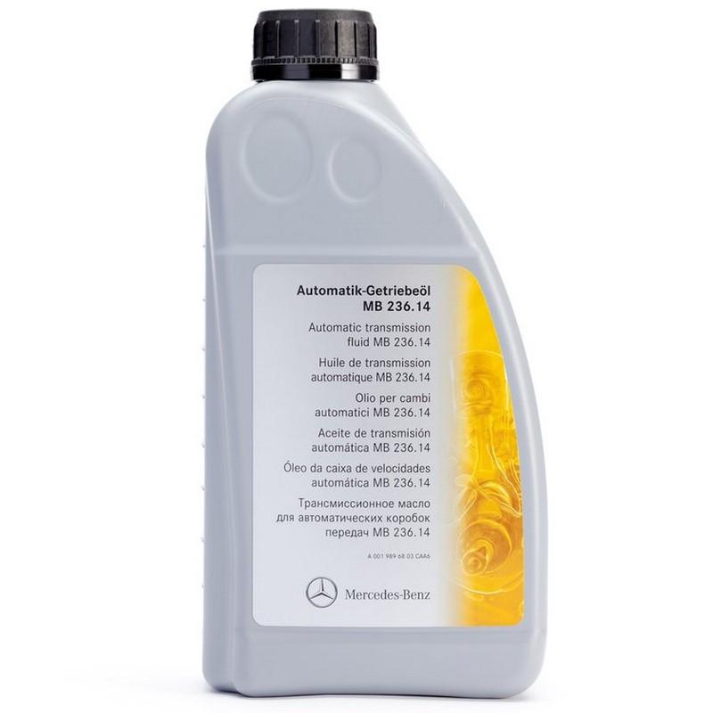 Трансмиссионное масло Mercedes MB 236.14 1 литр A0019896803