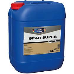 Трансмиссионное масло AVENO Gear Super 80W-90 20L (3022040-020)