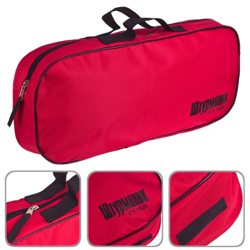 Сумка органайзер в багажник авто Штурмовик СТ-1520RD/BK 1 отделение (красная)