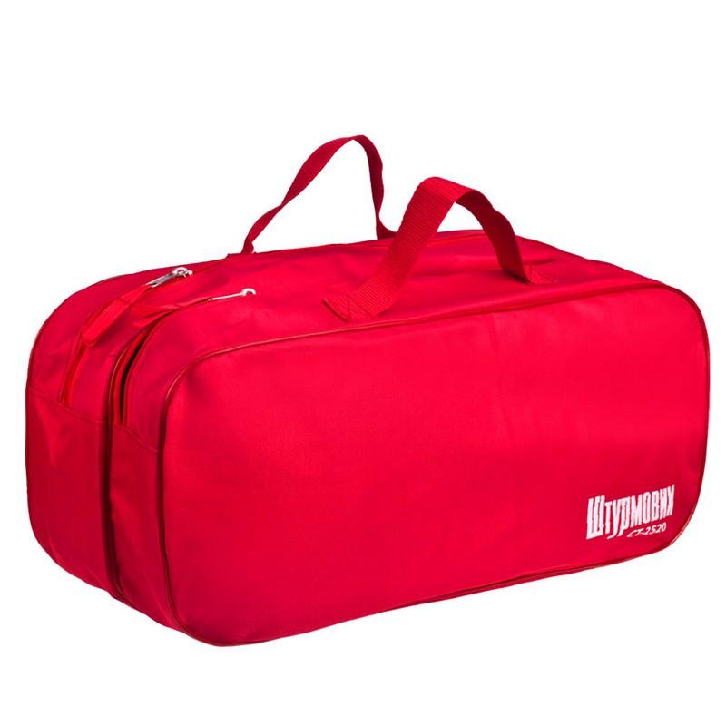 Сумка органайзер в багажник авто Штурмовик СТ-2520RD 2 отделения (красная)