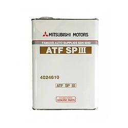 Трансмиссионное масло MITSUBISHI ATF SP III 4L (4024610)