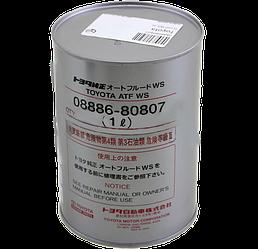 Трансмиссионное масло Toyota ATF WS 1 литр 08886-80807