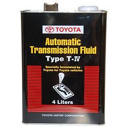Трансмиссионное масло Toyota ATF TYPE T-4 4 литра 08886-81015