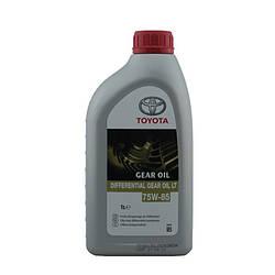 Трансмиссионное масло Toyota Differential Gear Oil LT 75W85 1 литр 08885-81060