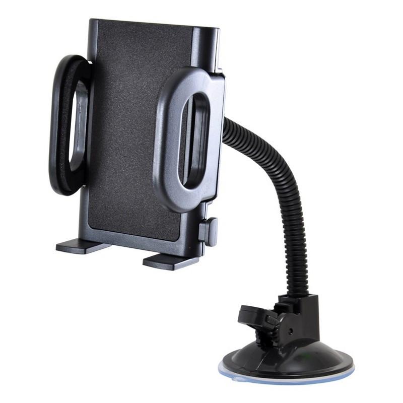 Держатель телефона Winso с поворотным механизмом на 360 градусов и гибким стержнем кронштейна 50-115 мм