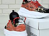 Женские кроссовки Versace Chain Reaction Chainz Spotted, женские кроссовки Версачи, кроссовки версач, фото 7