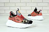 Женские кроссовки Versace Chain Reaction Chainz Spotted, женские кроссовки Версачи, кроссовки версач, фото 6