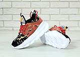 Женские кроссовки Versace Chain Reaction Chainz Spotted, женские кроссовки Версачи, кроссовки версач, фото 5