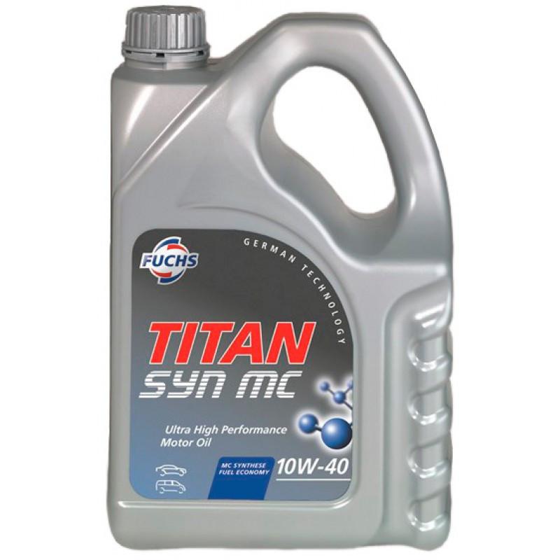 Моторное масло Fuchs Titan SYN MC 10W-40 4L (600639020)