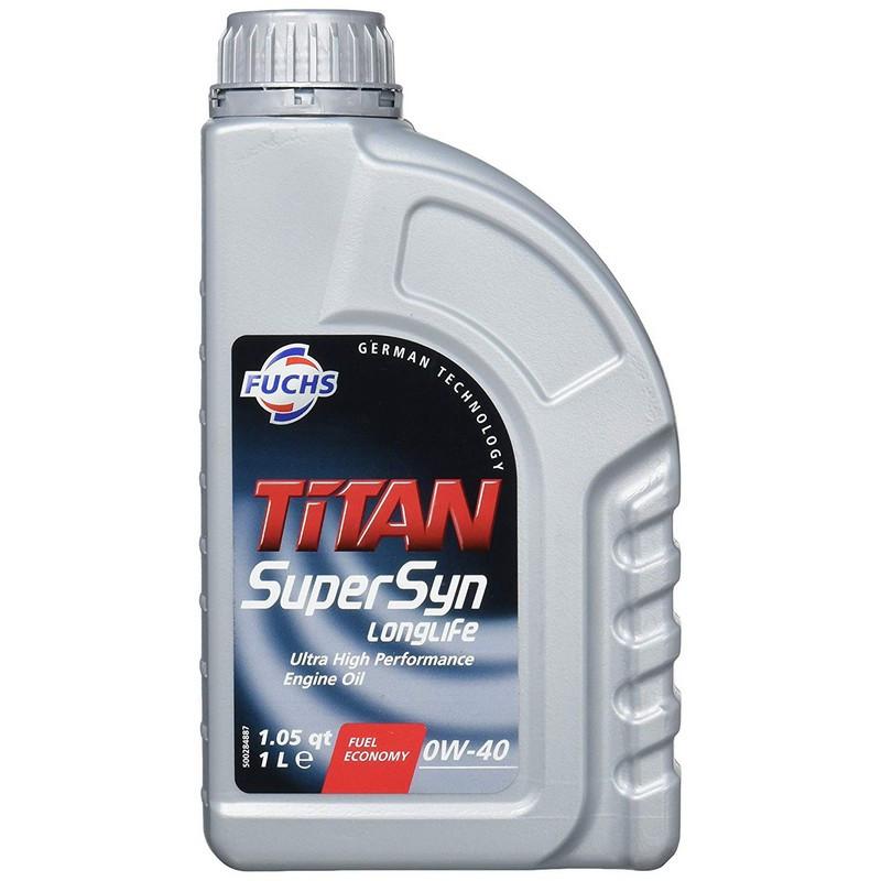Моторне масло Fuchs Titan SuperSyn LongLife 0W-40 1L (600889449)