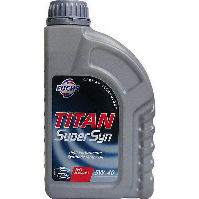 Моторное масло Fuchs Titan SuperSyn 5W-40 1L (600930745)