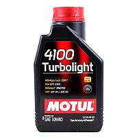 Моторное масло MOTUL 4100 Turbolight 10W-40 1L (387601)