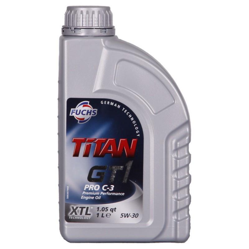 Моторне масло Fuchs Titan GT1 PRO C-3 5W-30 1L (600756253)