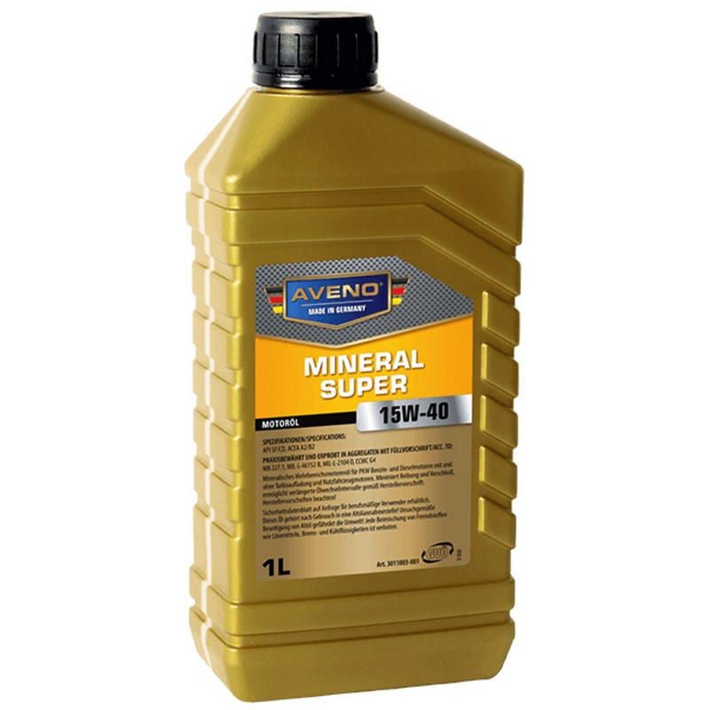 Моторное масло Aveno Mineral Super 15W-40 1L (3011003-001)