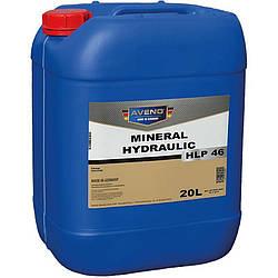 Минеральное гидравлическое масло Aveno Mineral Hydraulic HLP 46 20 литров