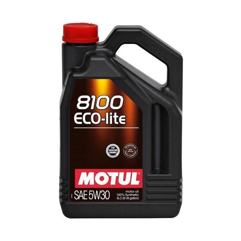 Моторное масло MOTUL 8100 Eco-lite 5W-30 5 л (839551)