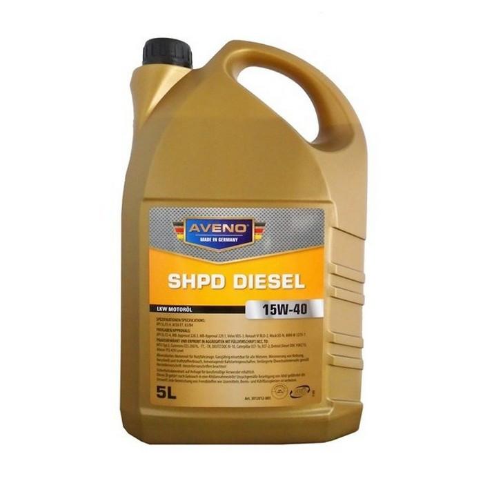 Моторное масло AVENO SHPD Diesel 15W-40 5L (3012012-005)