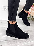 Женские демисезонные ботинки Челси на резинках, фото 3