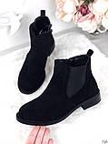 Женские демисезонные ботинки Челси на резинках, фото 5