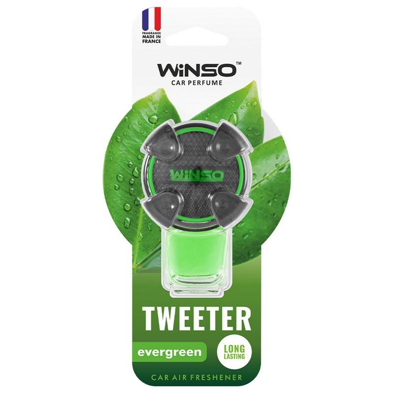 Ароматизатор в машину пахучка для авто на дефлектор 8мл Evergreen WINSO Tweeter (530880)