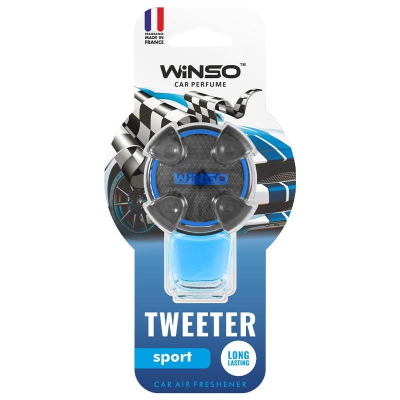 Ароматизатор в машину пахучка для авто на дефлектор 8мл Sport WINSO Tweeter (530920)