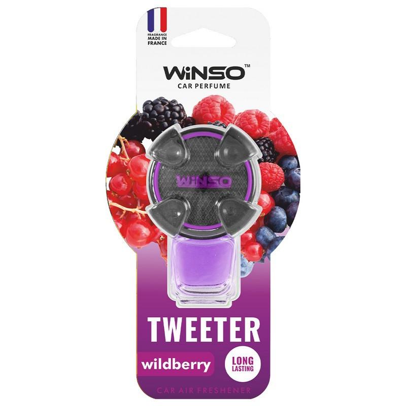Ароматизатор в машину пахучка для авто на дефлектор 8мл Wildberry WINSO Tweeter (530790)