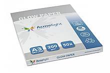 Світний фотопапір AcmeLight GLow Paper 50 аркушів А3 зелене світіння