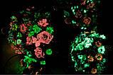 Світний гель для квітів помаранчева з помаранчевим світінням 20 мл, фото 3
