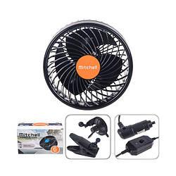 Автомобильный вентилятор Mitchell 12V 4W (HX-T701E)