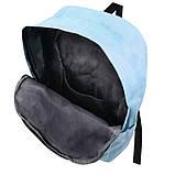 Міський рюкзак для дівчаток 4 предмета Котики блакитний 154082, фото 4